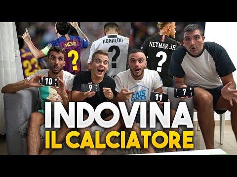 INDOVINA il NUMERO di MAGLIA del CALCIATORE!!!! | w/ Fius Gamer, Ohm, T4tino23