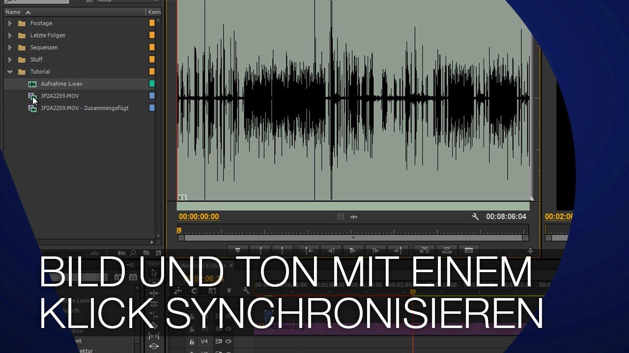 Bild Und Ton Synchronisieren