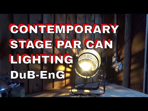 DuB-EnG: PAR CAN Stage Light PAR56 ornamental decorative contemporary designer studio house flat