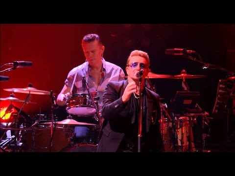 U2 - October/Bullet The Blue Sky (Live in Paris 2015)