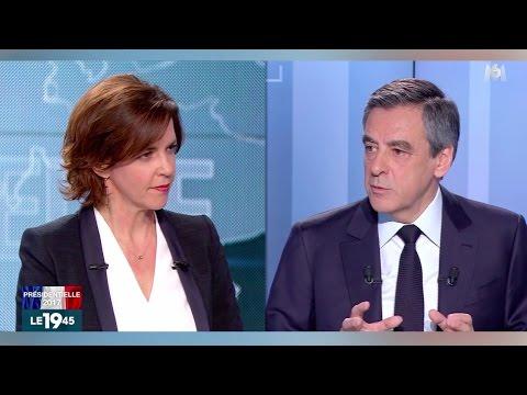 François Fillon invité du 19h45 sur M6