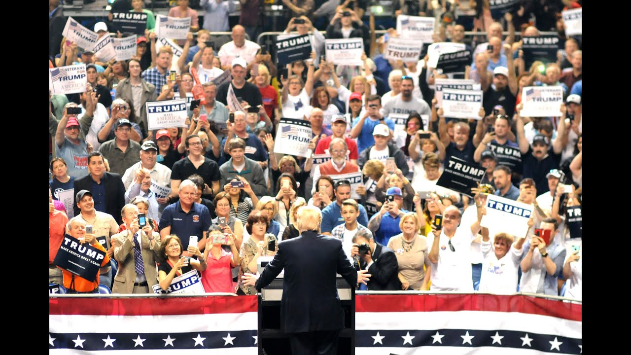 Image result for donald trump rally pennsylvania