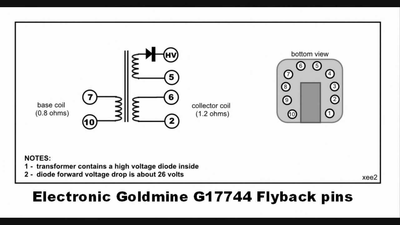finding flyback pin connections youtube