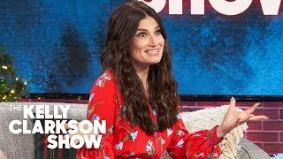 Idina Menzel Reveals Someone Had A Heart Attack When She Sang At A Wedding Once