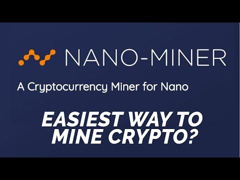 Nano-Miner: Mine Crypto in Your Browser! GET STARTED IN 5 MINUTES!!!
