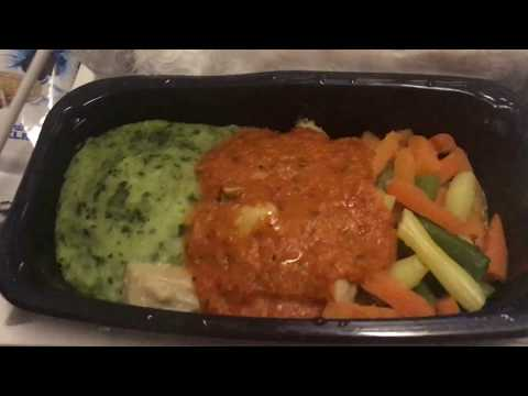 first meal service on KLM flight: Atlanta to Amsterdam (October 16th, 2018)