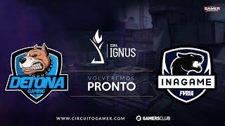 CS GO: DETONA vs. FURIA Inagame | MD3 | Final CGL Copa Ignus (PT-BR)