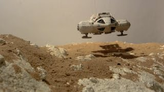 Space 1999 Dinky Eagle Landing