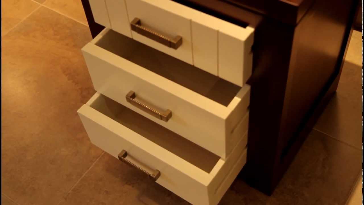 Mesilla de noche en madera de pino - tudecora.com Ideas en Muebles ...