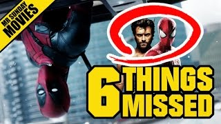 DEADPOOL Trailer 2 Easter Eggs, References & Things Missed