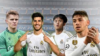 Asensio,Valverde,Odegaard,Kubo - Future of Madrid Midfield | Skills & Goals - 2020