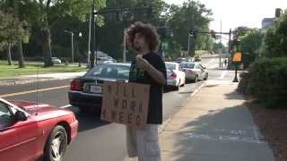 Panhandler Will Work for WEED