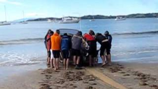 Beached Boat Push