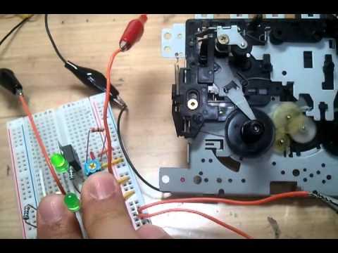 Cassete Tape Player Motor Hack Youtube