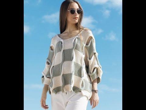 Вязание Свитера Спицами для Девушек - модели - 2019 / Knitting Sweater Knitting For Girls