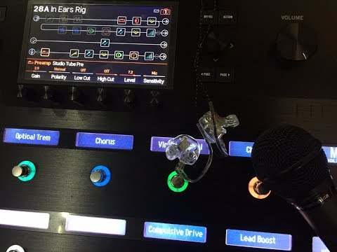 Using your Line 6 Helix as a Personal In Ear Monitor System