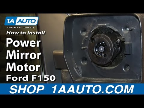 How To Replace Power Mirror Motor 04-13 Ford F150
