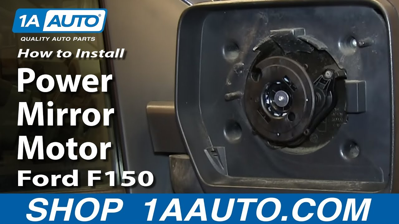 How To Replace Power Mirror Motor 04 13 Ford F150 Youtube