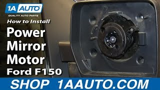 How To Install Replace Power Mirror Motor 2004-13 Ford F150
