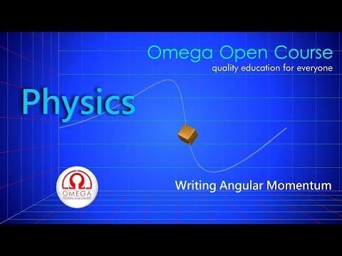 Angular Momentum (With 3D animation)