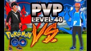 POKEMON GO NEW PVP RAID MODE | LEVEL 40s PVP LEVEL 3 RAIDS DAMAGE BATTLE