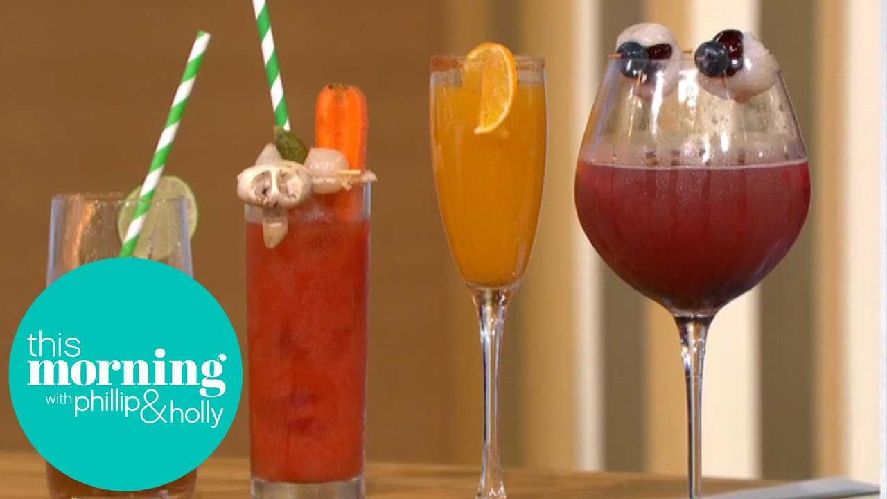 Drink Expert Andy Clarke Shares His Halloween Creepy Cocktails Recipes | This Morning