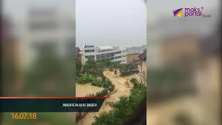 Сочи снова затопило после удара стихии