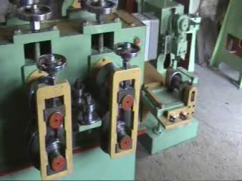 Neeraj Enterprises 6 Station Motorcycle wheel rim roll forming machine 9212779988, 9818388747