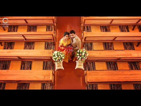 A Marvellous Christian Wedding Highlights of Renju & Rincy by Chandra Studio