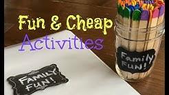 Fun & Cheap Family Activities