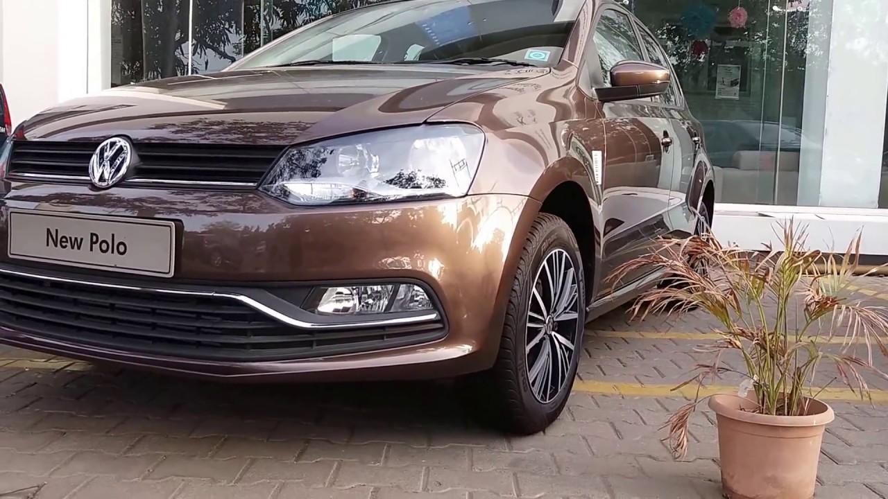 2017 Volkswagen Polo Vento Ameo Chocolate Brown Polo