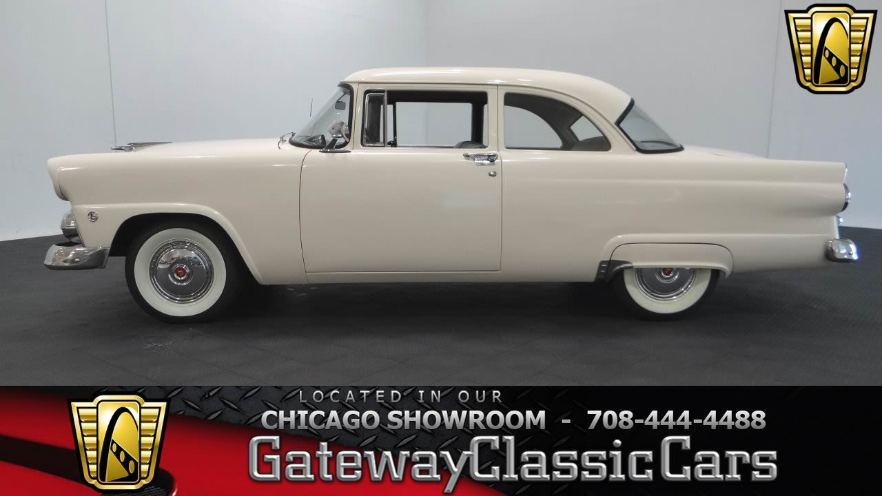 1956 Ford Mainline Wiring Diagram Detailed Schematic Diagrams Wagon Car 1955 Gateway Classic Cars Chicago 873 Youtube Harness