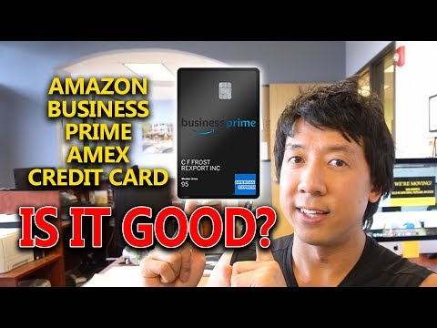 AMAZON BUSINESS PRIME AMEX CREDIT CARD ANY GOOD? | PERK AND BENEFITS REVIEW