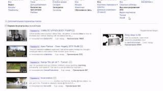 Поиск видео на сервисе YouTube. Обзор. (3/10)