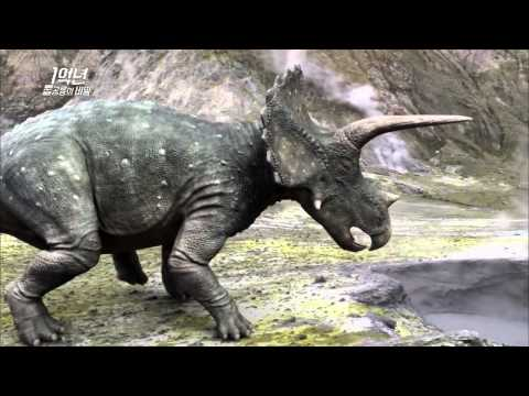Tyrannosauridae and Ceratopsian have a deadly combat! MBC Documentary Special 20140127