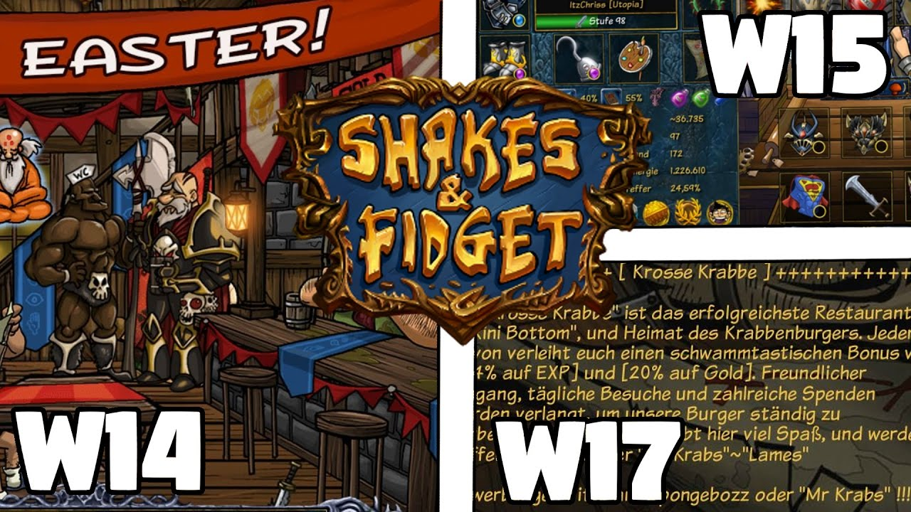 Shakes And Fidget 8