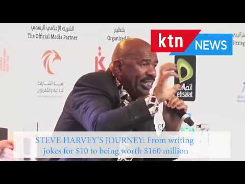 Steve Harvey's incredible journey from writing jokes for $10 to being worth $160 million