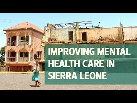 Improving mental health care in Sierra Leone