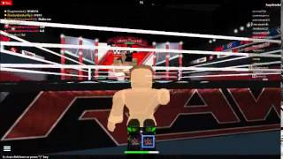 WWE Chris Benoit ROBLOX Prank