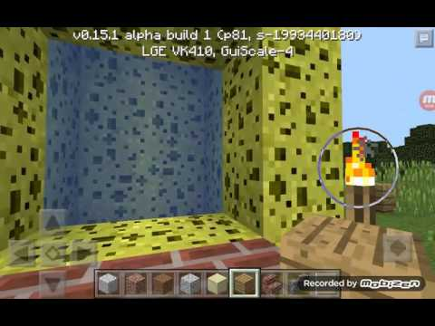how to make a spongebob portal in minecraft