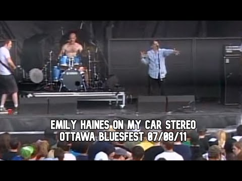 Emily Haines On My Car Stereo - Ottawa Bluesfest - 07-08-11