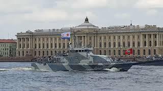 Парад ВМФ 29.07.2018 Санкт-Петербрг