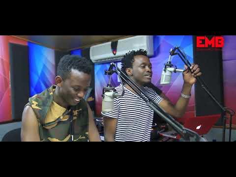 BAHATI & DAVID WONDER - Ndogo Ndogo Media Tour ( Radio Citizen ) PART 2