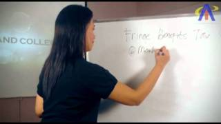 Finance and Accounting Tutorial: How to compute Fringe Benefit tax