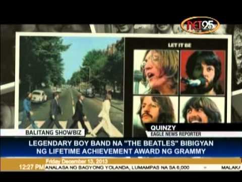 The Beatles Receives Grammy Lifetime Achievement Award