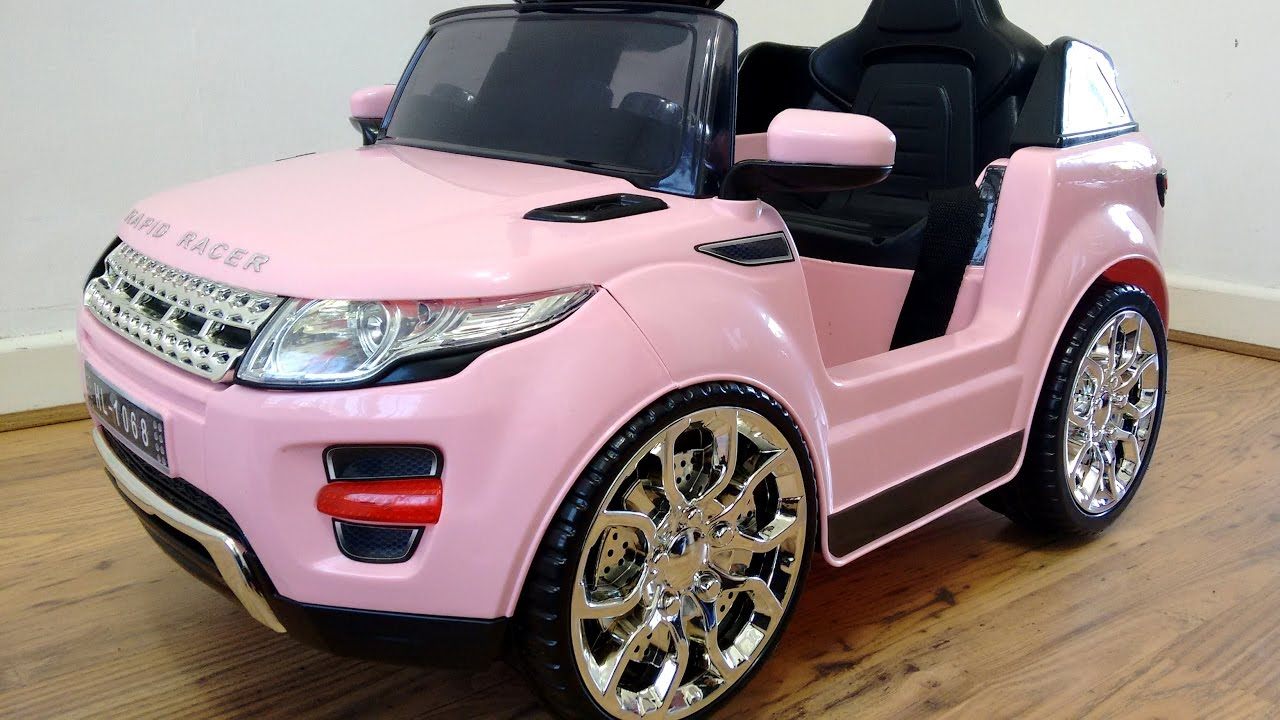 Pink Range Rover With Black Rims Pictures To Pin On