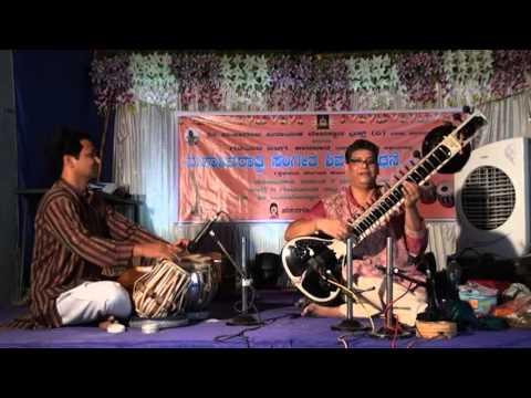 Pt. Manab Das Sitar Maestro performed at Karwar on 7th March 2016 Raag Bageshree Part-I