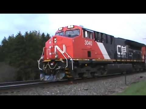Railfanning Western Wisconsin and Eastern Minnesota part 1 4-22-16