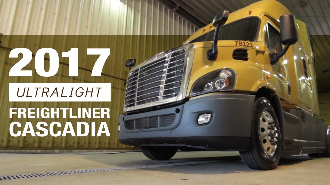 2017 ultralight freightliner cascadia truck tour