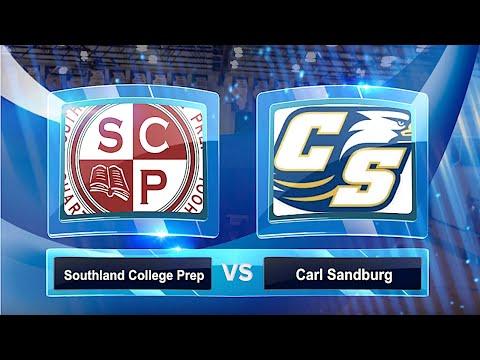 Southland College Prep Eagles vs.  Carl Sandburg Eagles | High School Boys Basketball | 12/21/2019